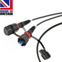 IP68 Fibre Tactical Patch Cable singlemode