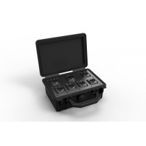 Neutrik opticalCON Breakout Box, pre loaded with 1x MTP and 6x DUO, Multi Mode