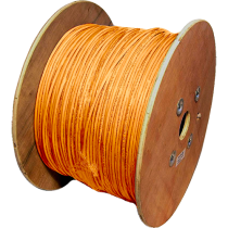 Datwyler Uninet 7702 Cat7 Stranded, Orange, 1km