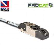 PROCAT5 Cat5e CatSnake, 2x Datatuff RJ45 Plugs, no reel
