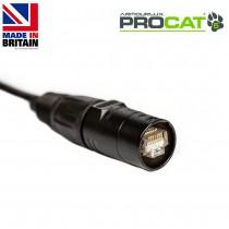 PROCAT5 Cat5e CatSnake, 2x etherCON RJ45 Plugs, no reel