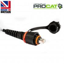 PROCAT5 Cat5e CatSnake, 2x IP-RJ45 IP68 Plugs, no reel