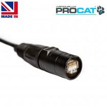 PROCAT7 Cat6a/7 PUR, 2x etherCON RJ45 Plugs, no reel