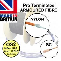 Pre Term Nylon Fibre SWA OS2 SC