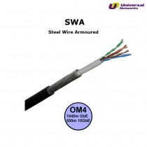 Steel Wire Armour OM4 Fibre