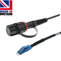 Tactical Fibre Patch Cable LC IP68-LC Uniboot OM3