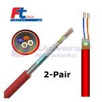 Draka Firetuf Data Cable, LU Approved, 2 Pair, 100m+