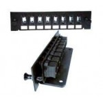 8 Slot MTP Front Plate (includes 8x MTP Type A adapters, Key up - Key down)