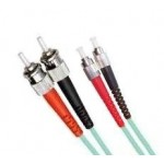 Armoured OM3 LSZH Fibre Patch Cable, FC-ST