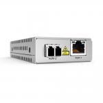 Allied Telesis AT-MMC2000LX/LC-TAA Gigabit Copper to Fibre