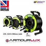 ArmourLux300 Armoured 4 Core LC Uni Plug - LC Socket OS1/2