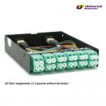 LGX 12 Way Cassette, MTP to 6x LC Duplex OS1