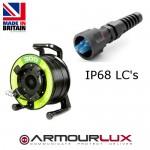 ArmourLux300 Armoured 2 Core LC IP68 Plugs OM3