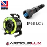 ArmourLux300 Armoured 4 Core LC IP68 Plugs OS1/2