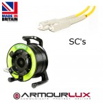 ArmourLux300 Armoured 4 Core SC Plugs OS1/2