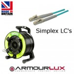 ArmourLux300 Armoured 4 Core LC Plugs OM3