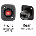 Neutrik opticalCON MTP Chassis Connector