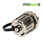 IP Cat5e Shielded Coupler, 1x Cap