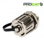 IP Cat5e Shielded Coupler, 1x Cap