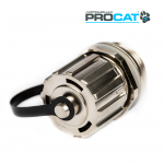 IP Cat6a Shielded Coupler, 1x Cap