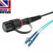 IP68 to LC Simplex Tactical Fibre