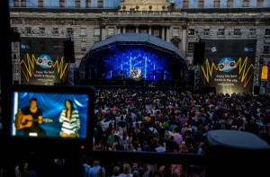 Stage at Summer Series Somerset House