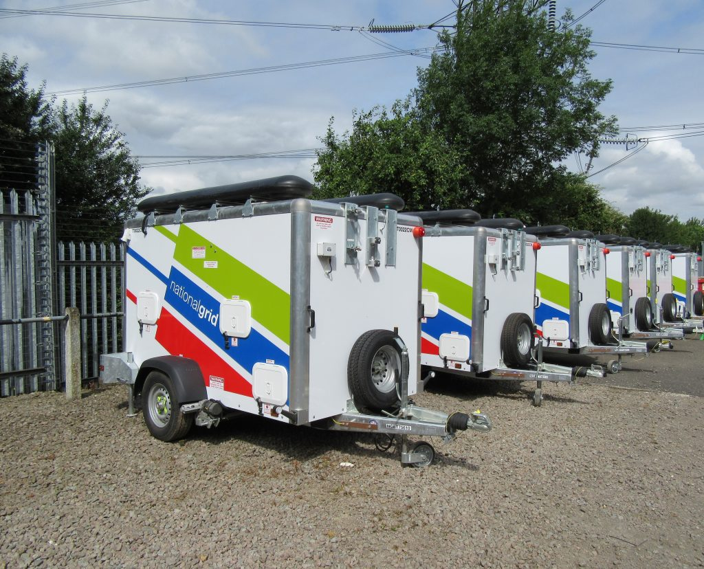 National Grid Trailer