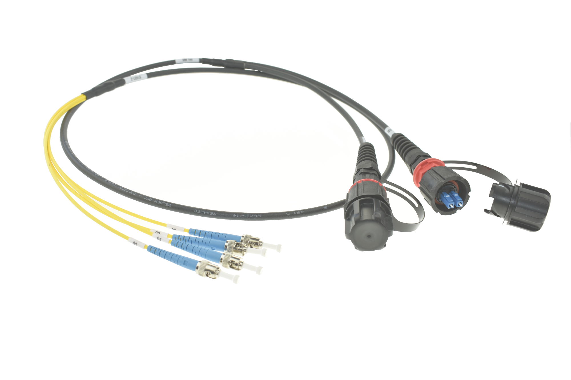 Tactical Fibre Patch Cable