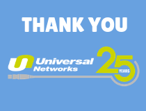 Celebrating 25 years of Universal Networks