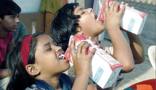 Milk for children