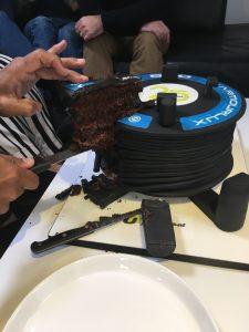 25 year celebration cake