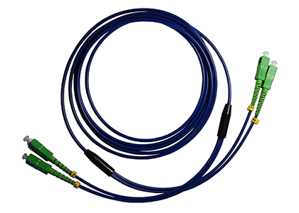 Armoured Fibre Patch Cables Now Made in the UK