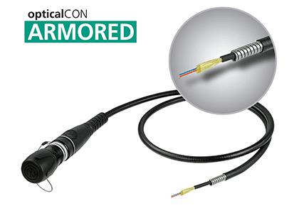 Flexible, deployable opticalCON cables get tougher