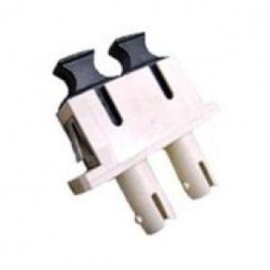 ST-SC Adapter, Multi-Mode, Phosphor Bronze Sleeve, Duplex -0