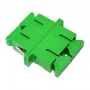 SCAPC-SCAPC Adapter, Single-Mode, Ceramic Sleeve, Duplex -0