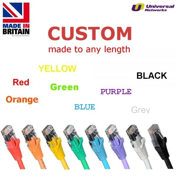 Category 5e LSZH Unshielded UTP, 8 Colours, any length-0