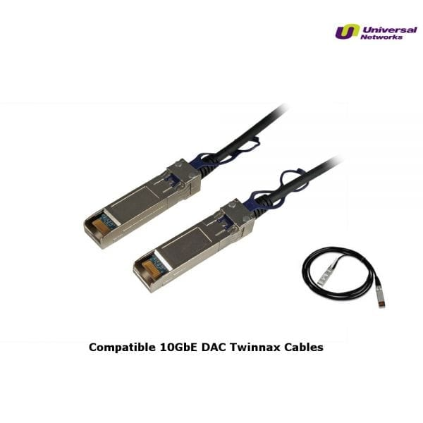 Compatible Hewlett Packard ProCurve X242 10GbE SFP+ 3m Cable-0