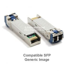 Compatible Allied Telesis GbE Multimode SFP, LC -0