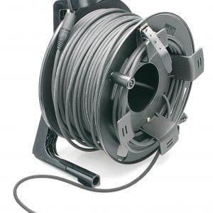 etherFLEX Tour Grade Cat5e Double Jacketted SFTP Cable Assembly, 2x Neutrik etherCON NE8MCB-1 RJ45 Plugs, includes GT310 Reel -0
