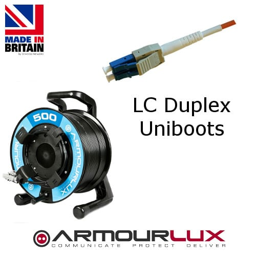 ArmourLux500 Tactical 2 Core LC Uniboot Plugs OM3-0