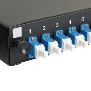 LC SM Fibre Panel Duplex