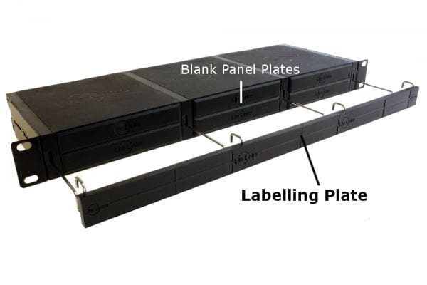 LL-1UC-V1 Lite Linke 6 Slot Chassis with Labelling Plate & Blank Panels