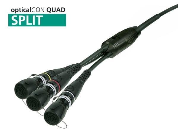 Neutrik OpticalCON Triple Split