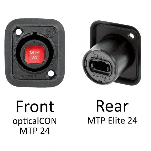 Neutrik opticalCON MTP Chassis Connector-8118