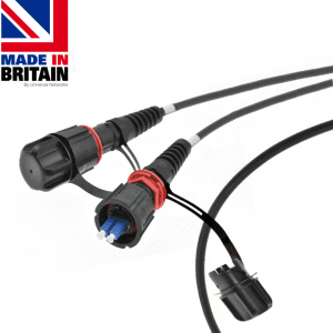IP68 Fibre Tactical Patch Cable singlemode