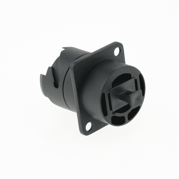 SENKO IP XLR / D-Series MPO Feed-through Coupler with dust cap, Key up to Key down-8615