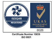 ISO 9001 - Certificate number 15035