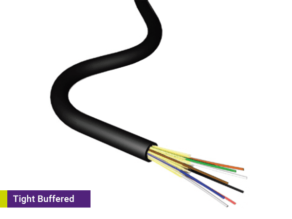 Bulk Fibre Tight Buffered
