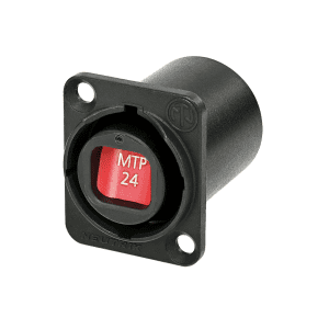 Neutrik opticalCON Chassis Connector NO24FDW-A