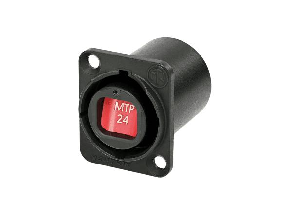 Neutrik opticalCON Chassis Connector NO24FDW-A